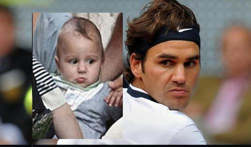 federer child look alike