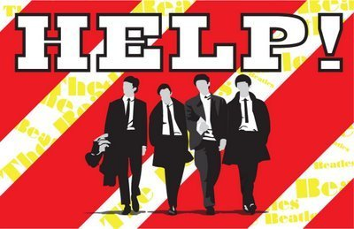 Image result for Help the beatles