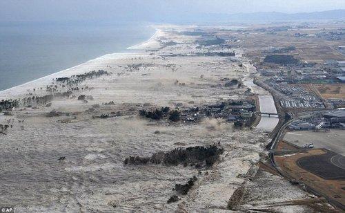 Nhật Bản tsunami