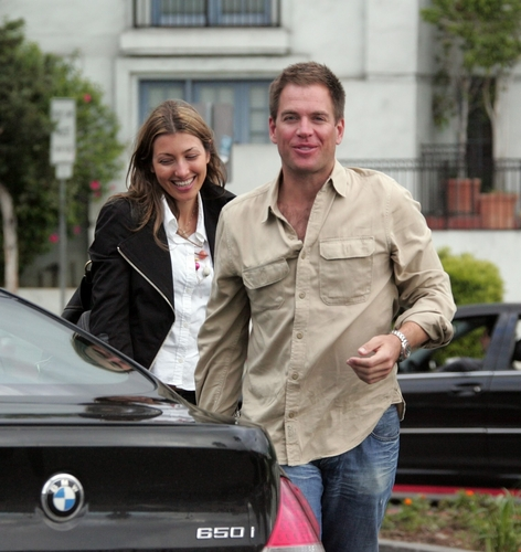 michael with bojiana - michael-weatherly Photo