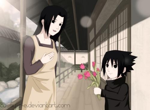 mikoto & sasuke