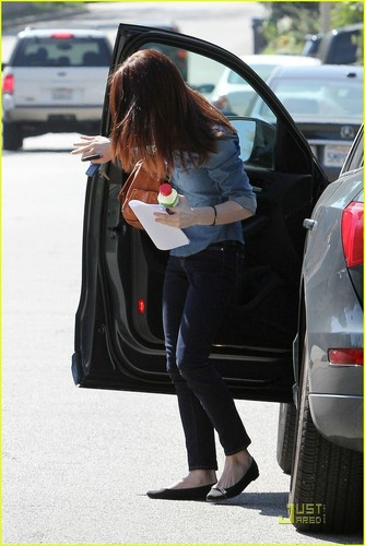 more MQ different shots of Ashley Greene out and about in LA yesterday (March 10)