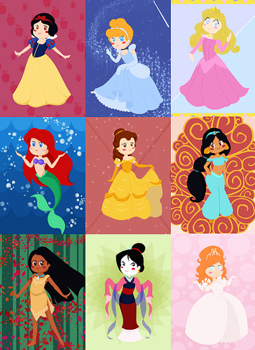 Disney Couples wallpaper called more art