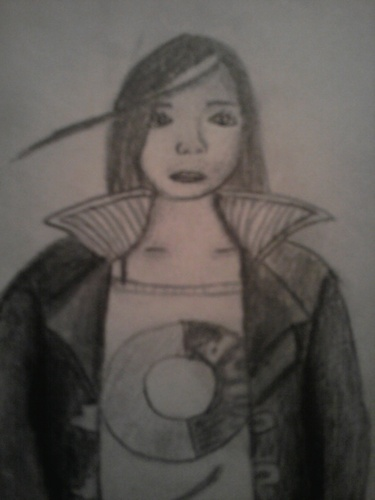 Skulduggery Pleasant kertas dinding titled my fail drawing attemps of valkyrie cain