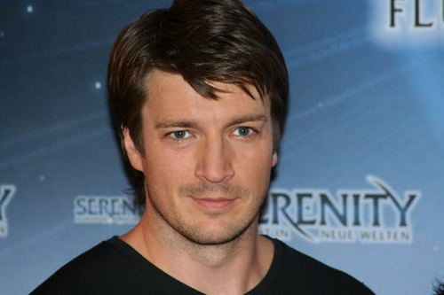 Nathan Fillion 바탕화면 containing a portrait entitled nathan fillion
