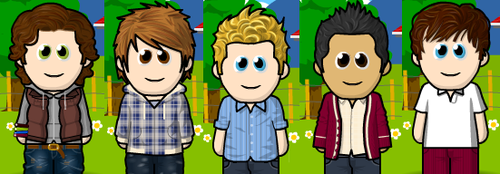 one direction in weemee form