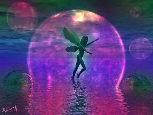 pretty fairy art 3 elements