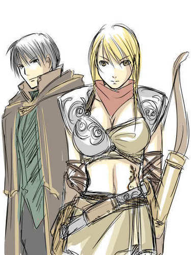 Riza Hawkeye Anime/Manga achtergrond titled riza and roy