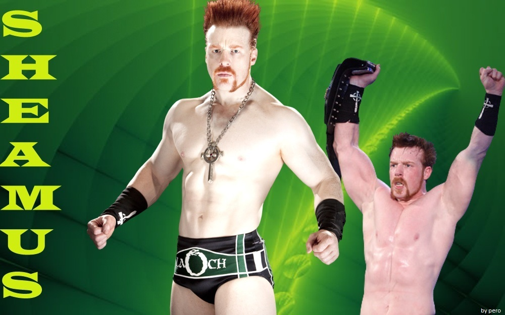 Sheamus the celtic warrior