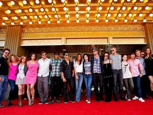 the the whole cast of twilight