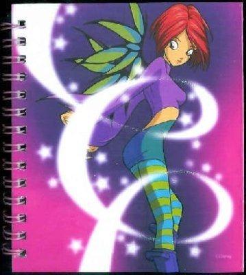 w.i.t.c.h notebook