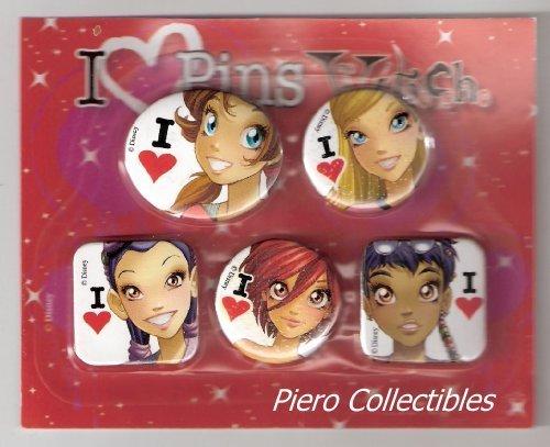 w.i.t.c.h pins