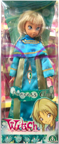 w.i.t.c.h princess Elyon doll