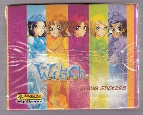 w.i.t.c.h sticker(sealed in the pack)
