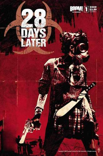 zombie 28 days latter poster