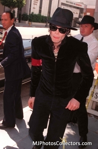 ♥ :*:* Michael  at Princess Diana's Memorial service:*:* ♥