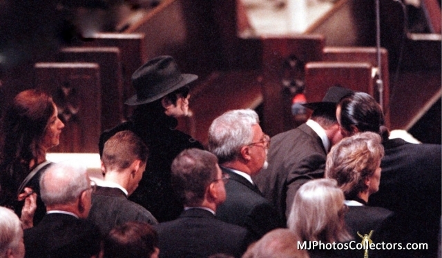 ♥ :*:* Michael at Princess Diana's Memorial service:*:* ♥