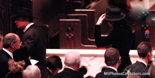 ♥ :*:* Michael at Princess Diana's memorial service :*:* ♥