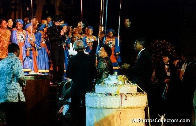 ♥ :*:* Michael at the Celebration of Madiba :*:* ♥