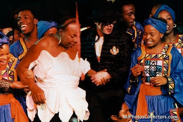 ♥ :*:* Michael at the Celebration of Madiba :*:* ♥