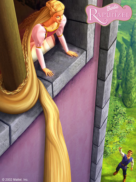 """""""Rapunzel, let your hairs down!"""""""