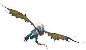 deadly nadder in flight