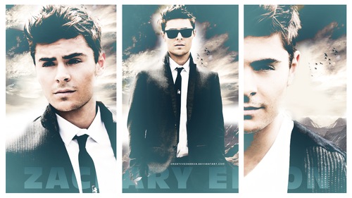 Zac Efron wallpaper probably containing a well dressed person and a business suit titled ;]