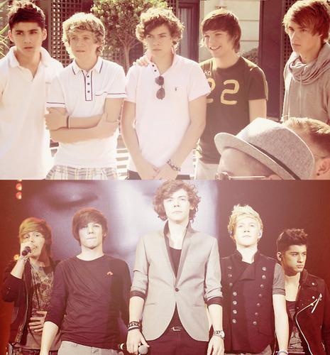 1D = Heartthrobs (Enternal tình yêu 4 1D & Always Will) They've Grown Up Soo Much! 100% Real :) x