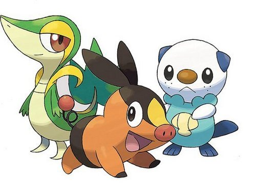 3 Starter Pokemon