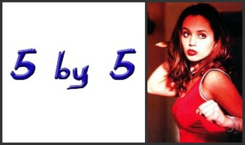 The Buffyverse wallpaper containing a portrait titled 5 by 5