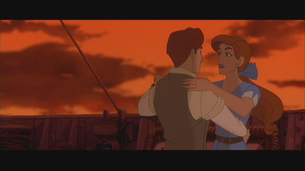 """真假公主 & Dimitri in """"Anastasia"""""""