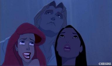 Ariel/John Smith/Pocahontas