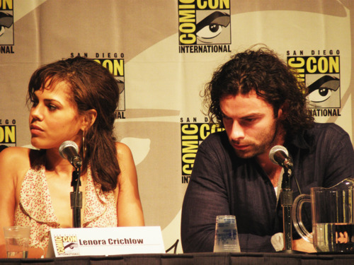 Being Human (Lenora Crichlow + Aidan Turner at Comic Con! San Diego Love These 2 100% Real :) x
