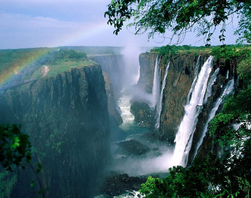Breathtaking waterfalls
