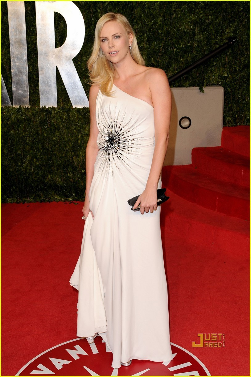 Charlize Theron Open Back Oscars Dress Is A Daring Look