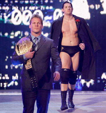 Chris Jericho & Wade Barrett  - chris-jericho Photo