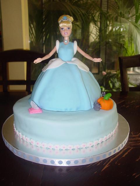 Cinderella Barbie Cake - Disney Princess Photo (20194285) - Fanpop