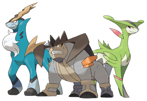 Cobalion, Terrakion, and Virizion - Pokémon Photo ...