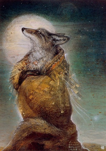 Coyote Woman Dreaming