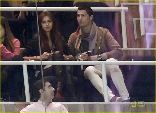 Cristiano Ronaldo & Irina Shayk: Saturday soccer Game