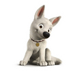 Cute Bolt - disneys-bolt photo