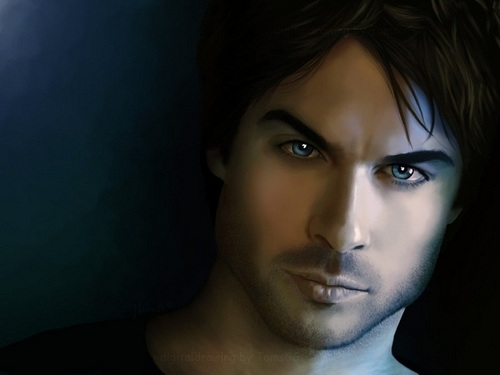 Damon Salvatore kertas dinding probably with a portrait entitled Damon Salvatore ✯