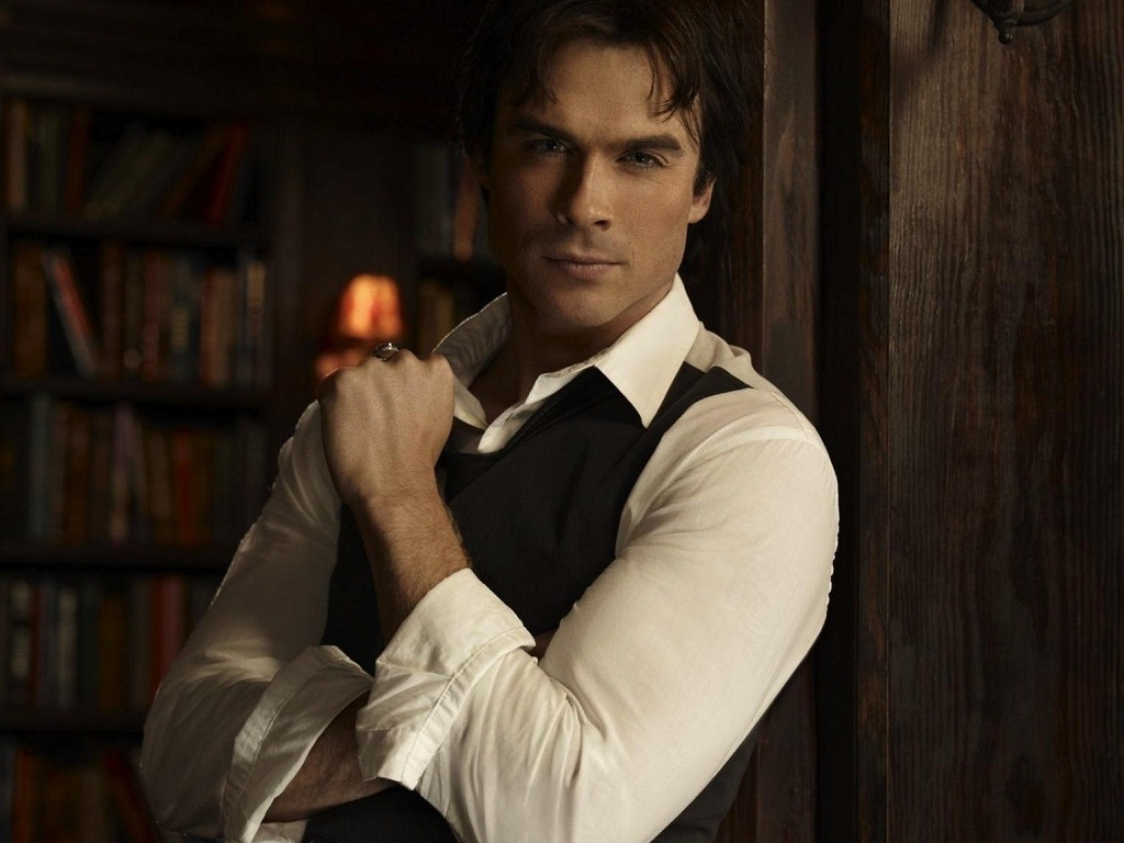 ian somerhalder damon vampire - photo #8