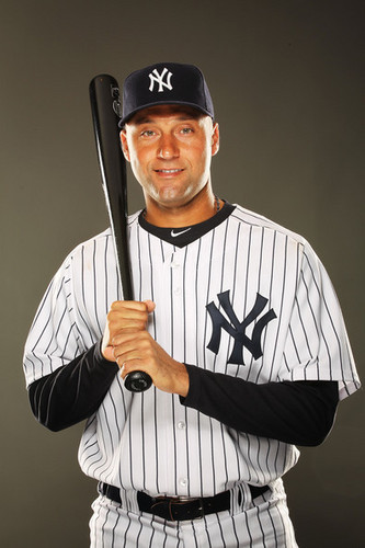 Derek Jeter 2011 Photo Day NYY