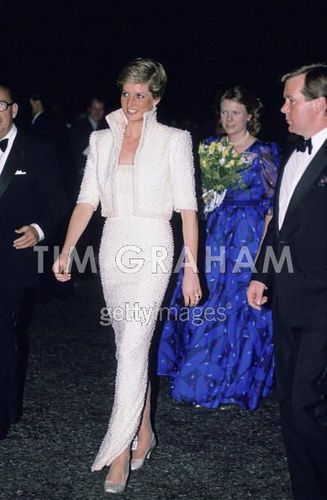 Diana At Fashion Awards