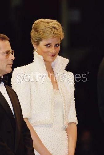 Diana At Fashion Awards