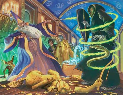 Dueling Voldemort
