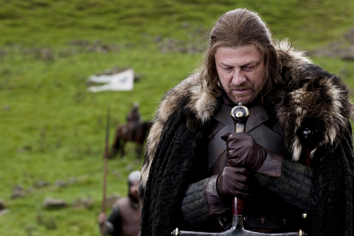 "Game of Thrones wallpaper containing a fur coat, a mink, and a fur titled Eddard ""Ned"" Stark"
