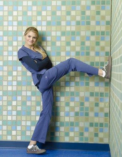 Eliza coupé, coupe as Dr Denise Mahoney ~ Season 8 Promotional Photoshoot