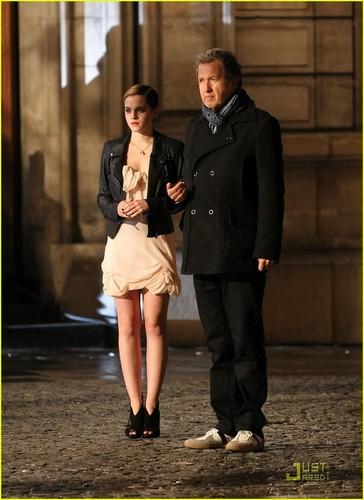 Emma Watson: Lancome Shoot in Paris!